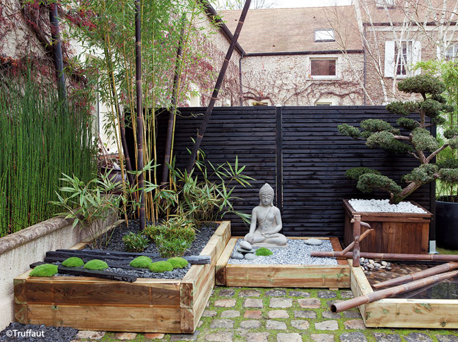 Jardin Zen Visez La Plenitude Elle Decoration