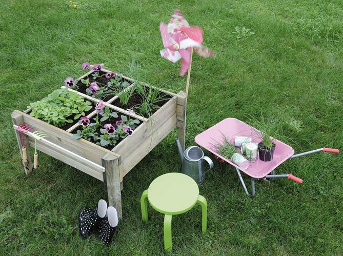 Quand le jardinage devient un jeu d\'enfant ! - Elle Décoration