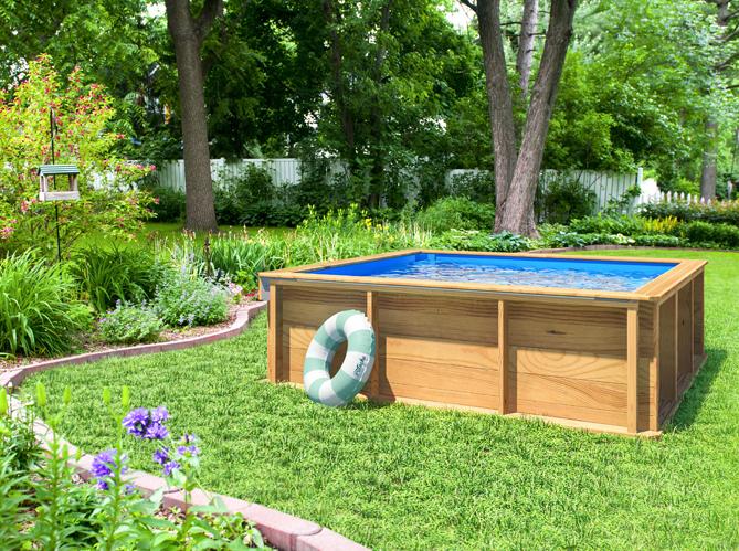 piscine hors sol en bois elle d coration. Black Bedroom Furniture Sets. Home Design Ideas