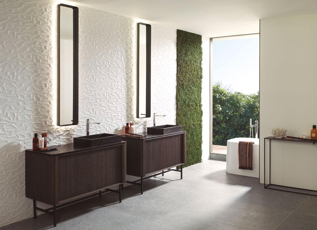 Porcelanosa Meuble De Salle De Bain 9 idées chics et tendances pour la salle de bains - elle