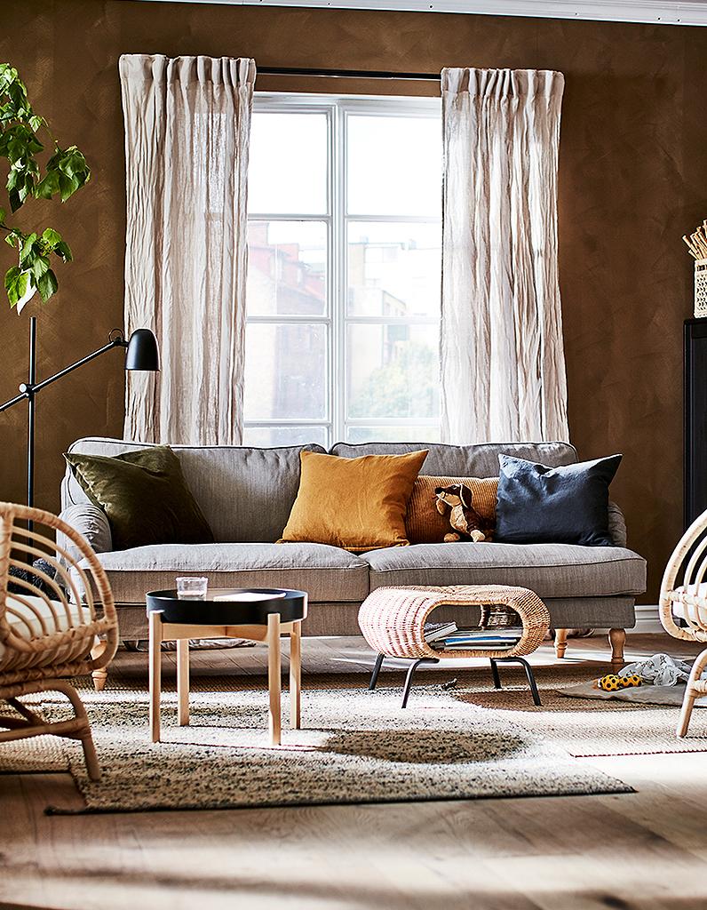 Catalogue IKEA : coup de cœur pour les matières naturelles - Elle