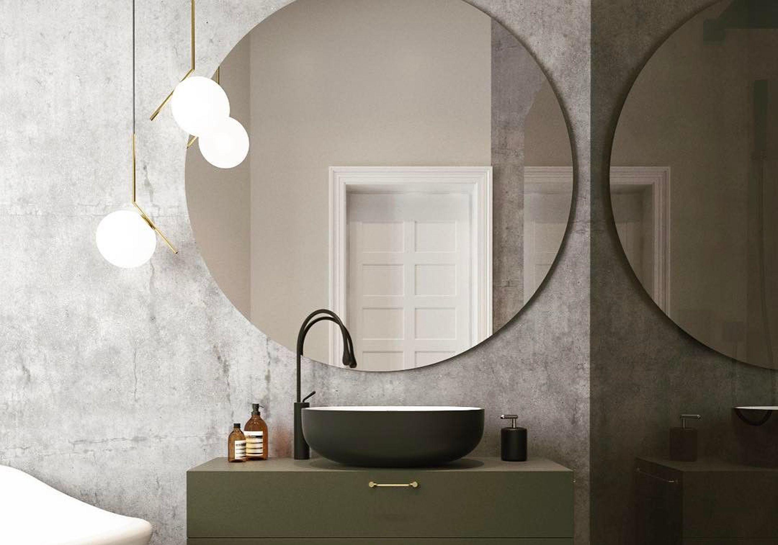Mettre Un Miroir Dans Une Cuisine le miroir rond, cet indispensable déco à nos intérieurs