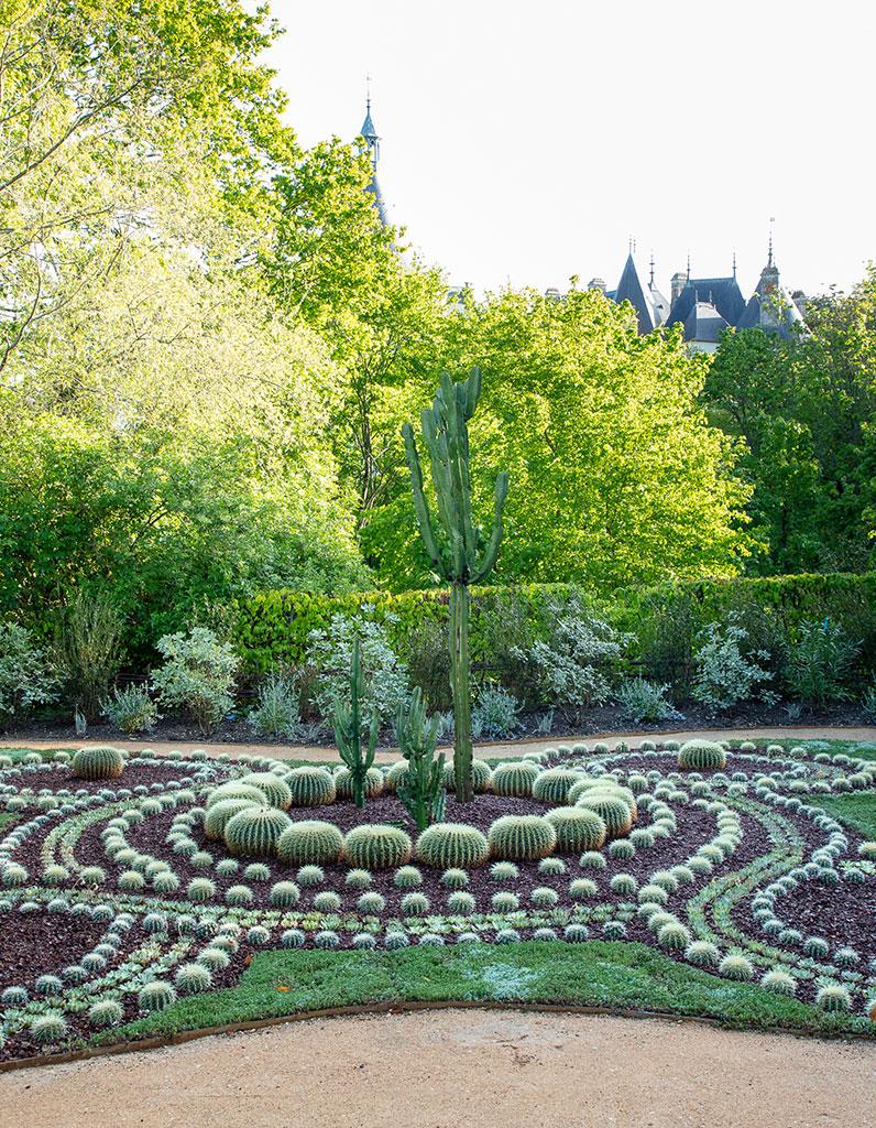 Jardins et expositions à voir au château de Chaumont-sur-Loire