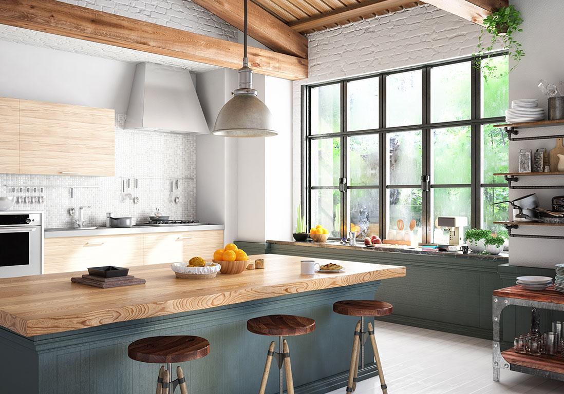 Peut On Mettre Du Stratifié Dans Une Cuisine rénovation de la cuisine : nos idées tendances - elle décoration