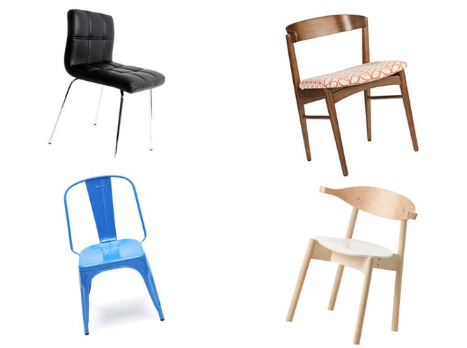 chaise blanche ikea coloniale