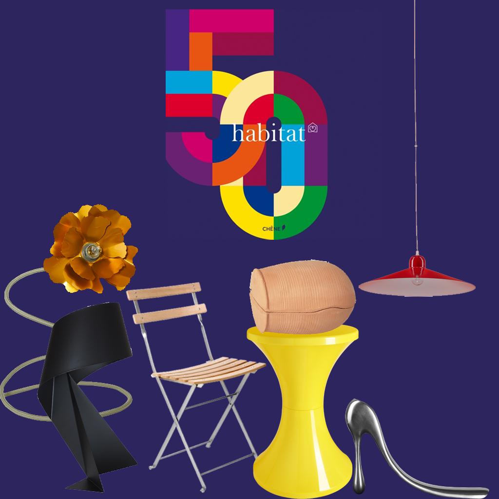 Habitat 50 Ans 50 Objets Cultes Elle Décoration