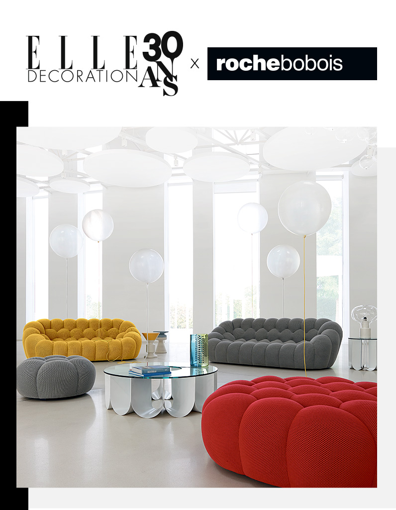 votre canap bubble roche bobois d 39 une valeur de 4000 elle d coration. Black Bedroom Furniture Sets. Home Design Ideas