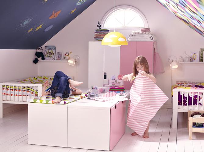 5 belles chambres d\'enfant aménagées dans les combles - Elle ...