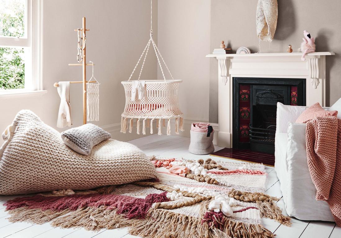 Chambre Rose Poudré Fille chambre de bébé : 25 idées pour une fille - elle décoration