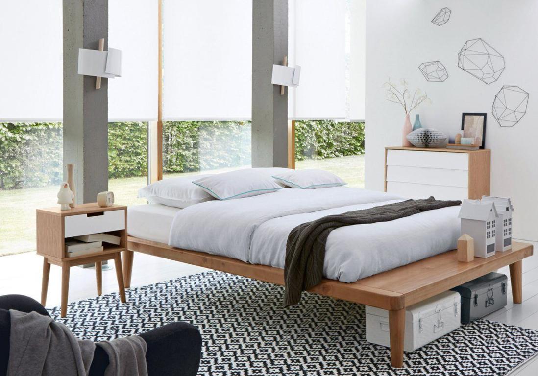 Une chambre blanche accessoirisée d\'un tapis graphique - La chambre ...