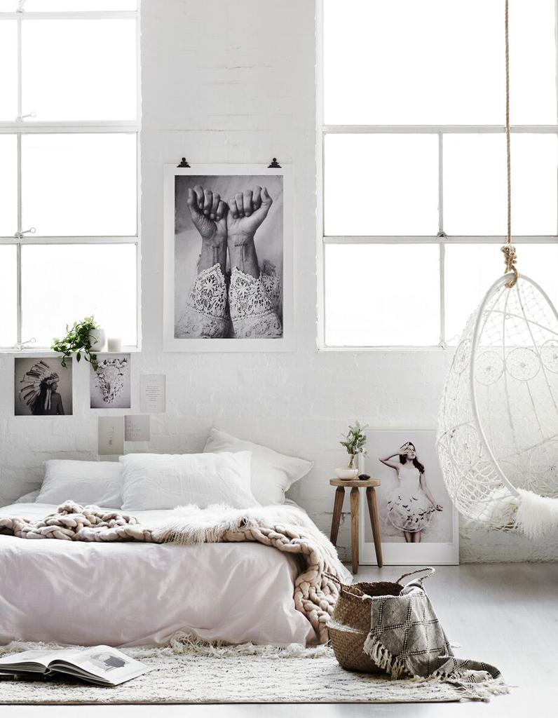 5 id es tr s f minines piquer cette chambre cosy - Supports magazines simples fois tres design ...