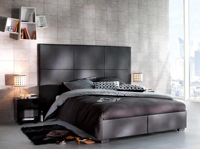 Craquez pour une chambre design elle d coration for Deco chambre lit noir