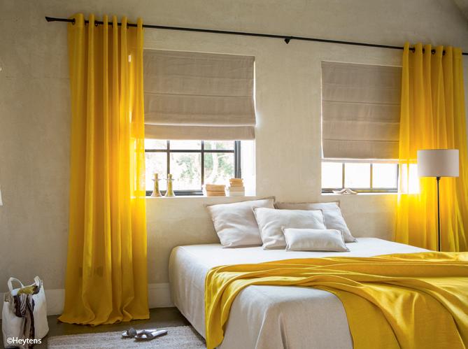 Idée déco : une touche de couleur dans votre chambre - Elle ...