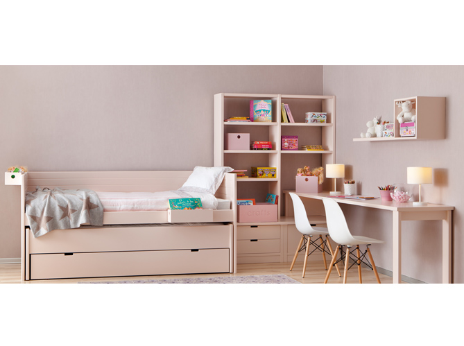 3 fa ons d am nager un espace bureau dans la chambre elle d coration. Black Bedroom Furniture Sets. Home Design Ideas