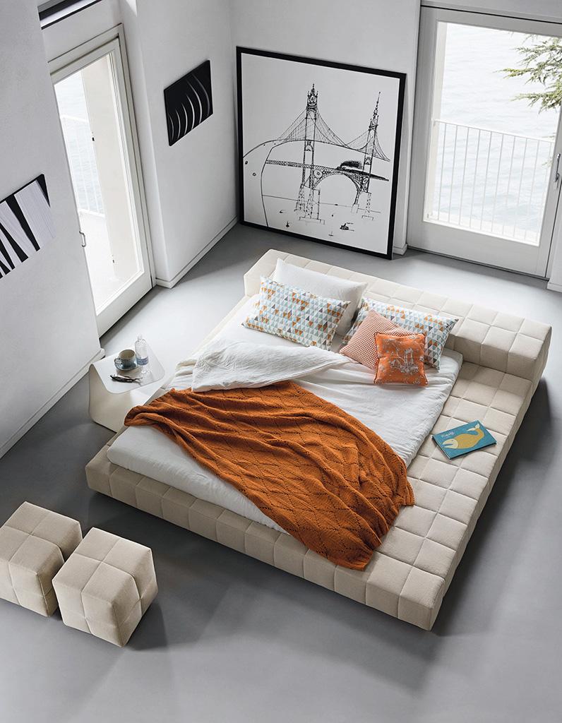 lit design 20 lits design pour une chambre moderne elle d coration. Black Bedroom Furniture Sets. Home Design Ideas