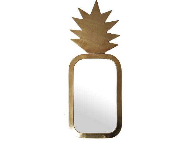 L Objet Deco Du Jour Le Miroir Ananas Home Autour Du Monde