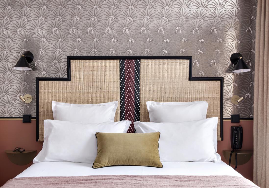 Tete De Lit Ethnique tête de lit : les idées à piquer aux hôtels - elle décoration