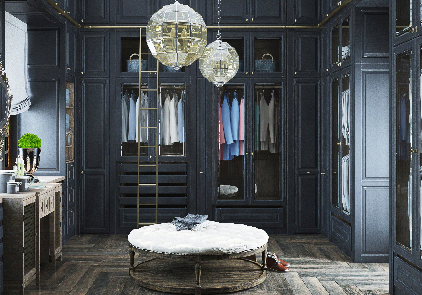 Chambre Baroque Noir Et Violet on a trouvé 15 dressings de rêve complètement dingues - elle