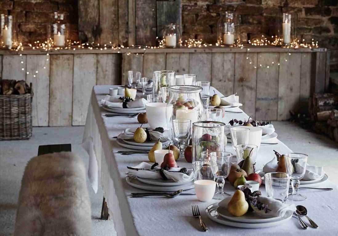 Nos plus belles inspirations pour une jolie d coration de table d 39 hiver elle d coration - Table maison de famille ...