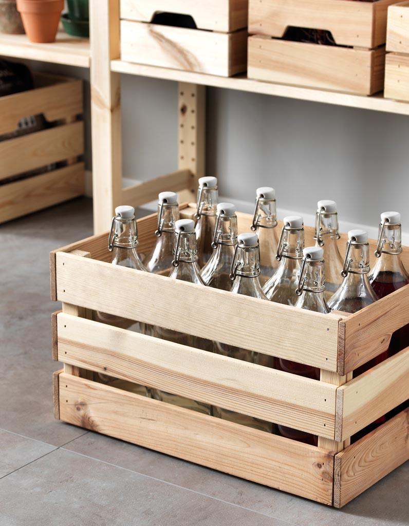 Table De Cuisine Gain De Place rangement bouteilles : 12 solutions pour ranger ses