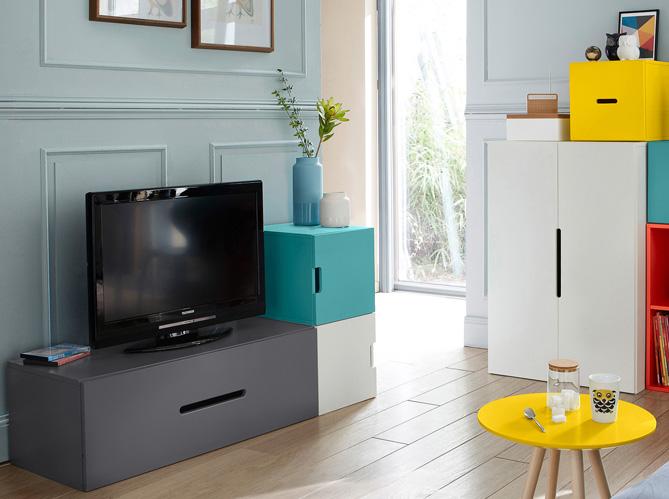 Des meubles astucieux et sympas pour votre studio ! - Elle ...
