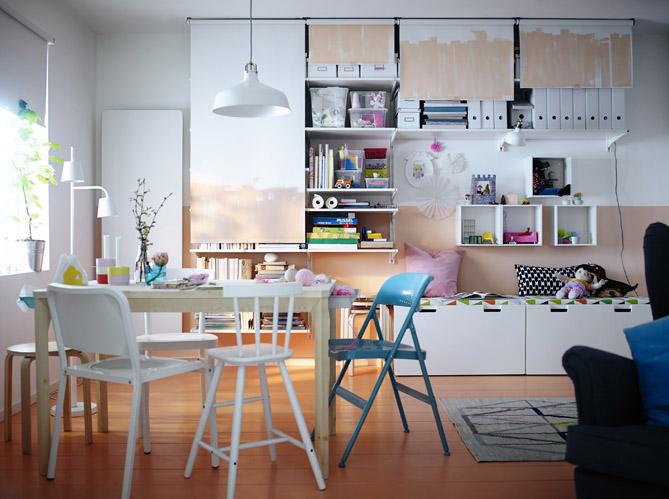 Idees De Rangements Super Pratiques Pour Un Petit Appart Elle Decoration