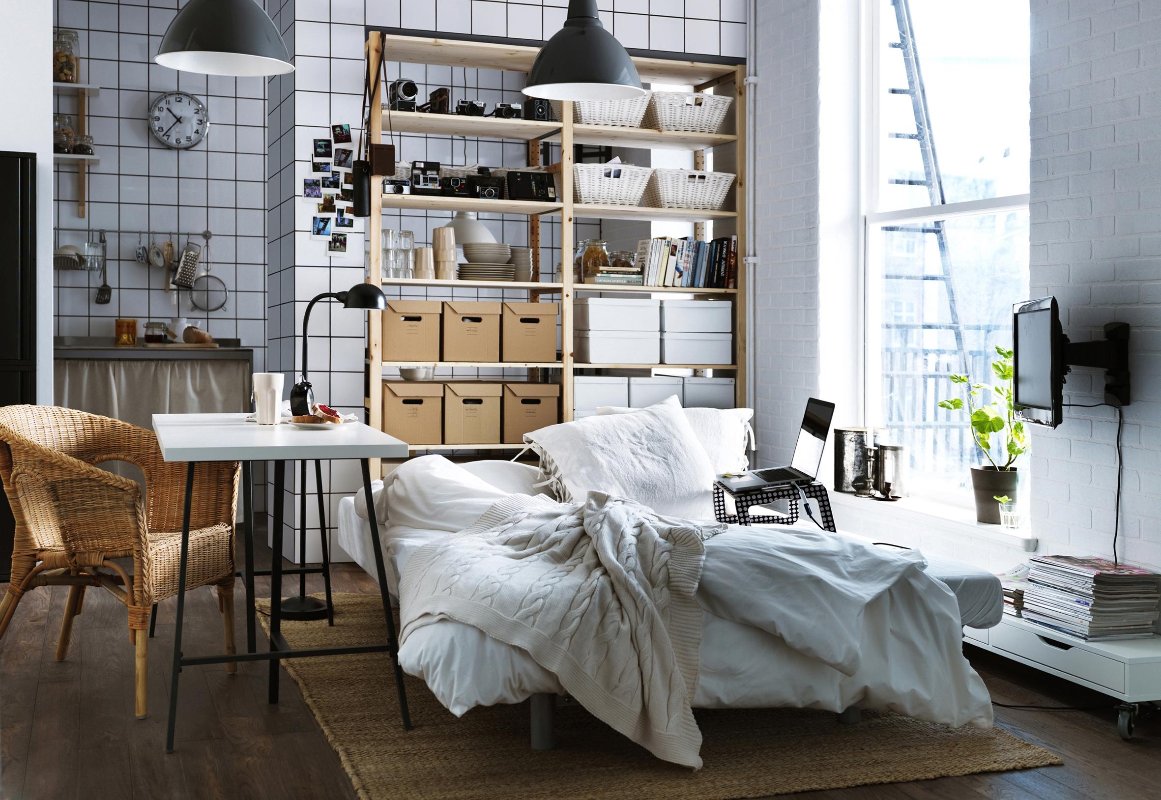 Mur De Rangement Salon studio : nos 30 idées de rangements bien pensés - elle