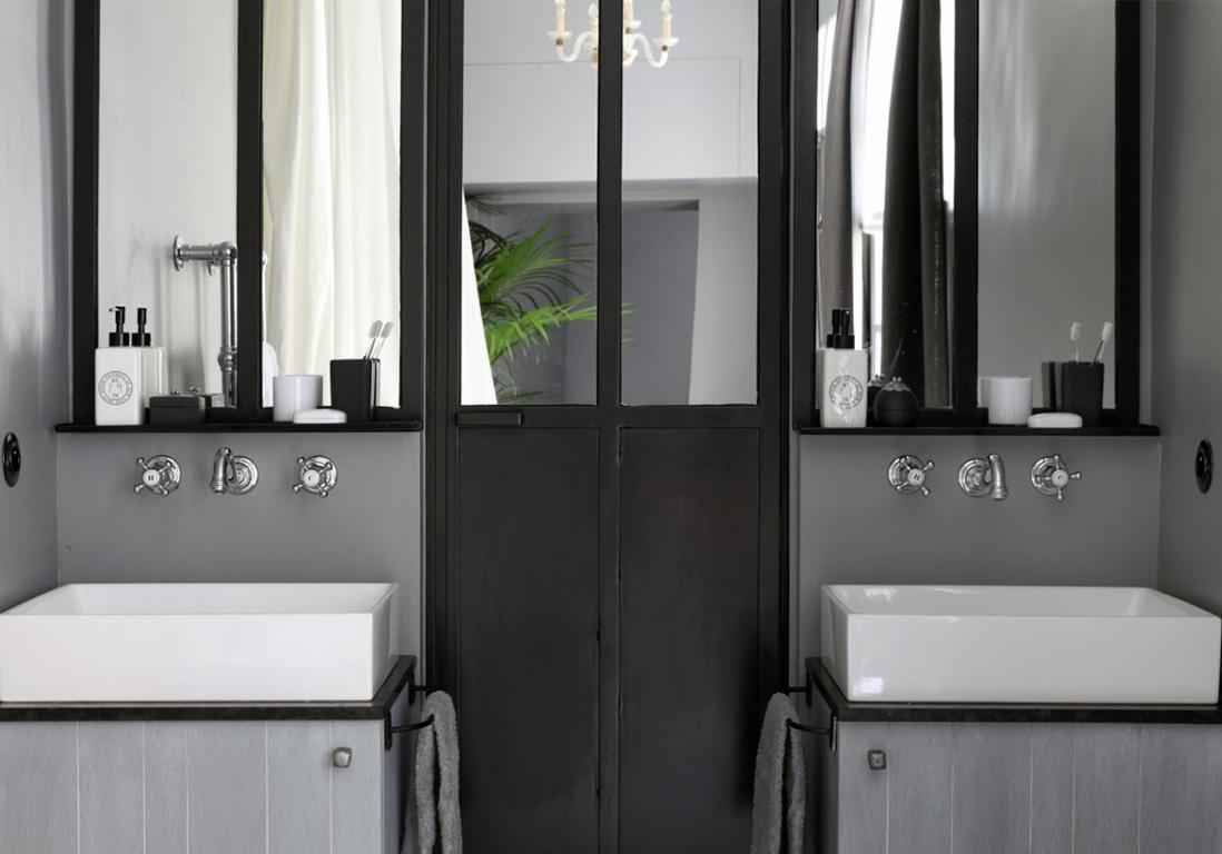 15 salles de bains grises elle dcoration