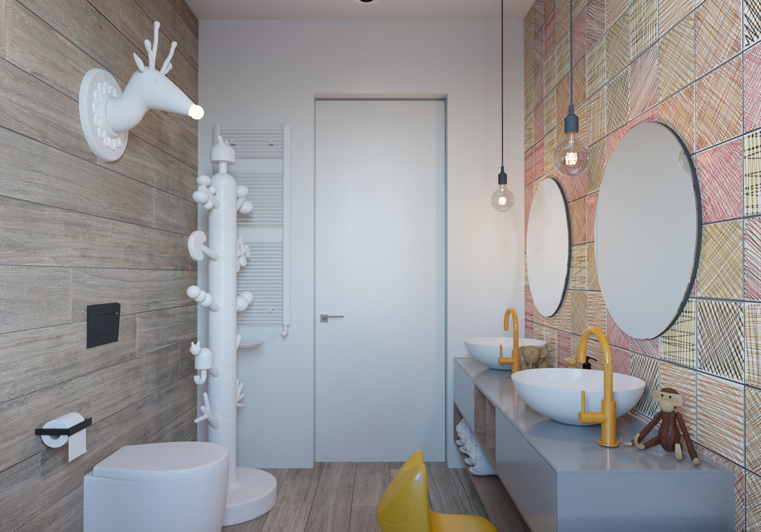 Image Salle De Bain salle de bains enfant : nos inspirations pour une salle de