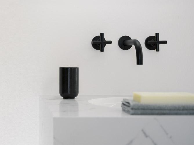 La robinetterie noire, détail ultra chic - Elle Décoration