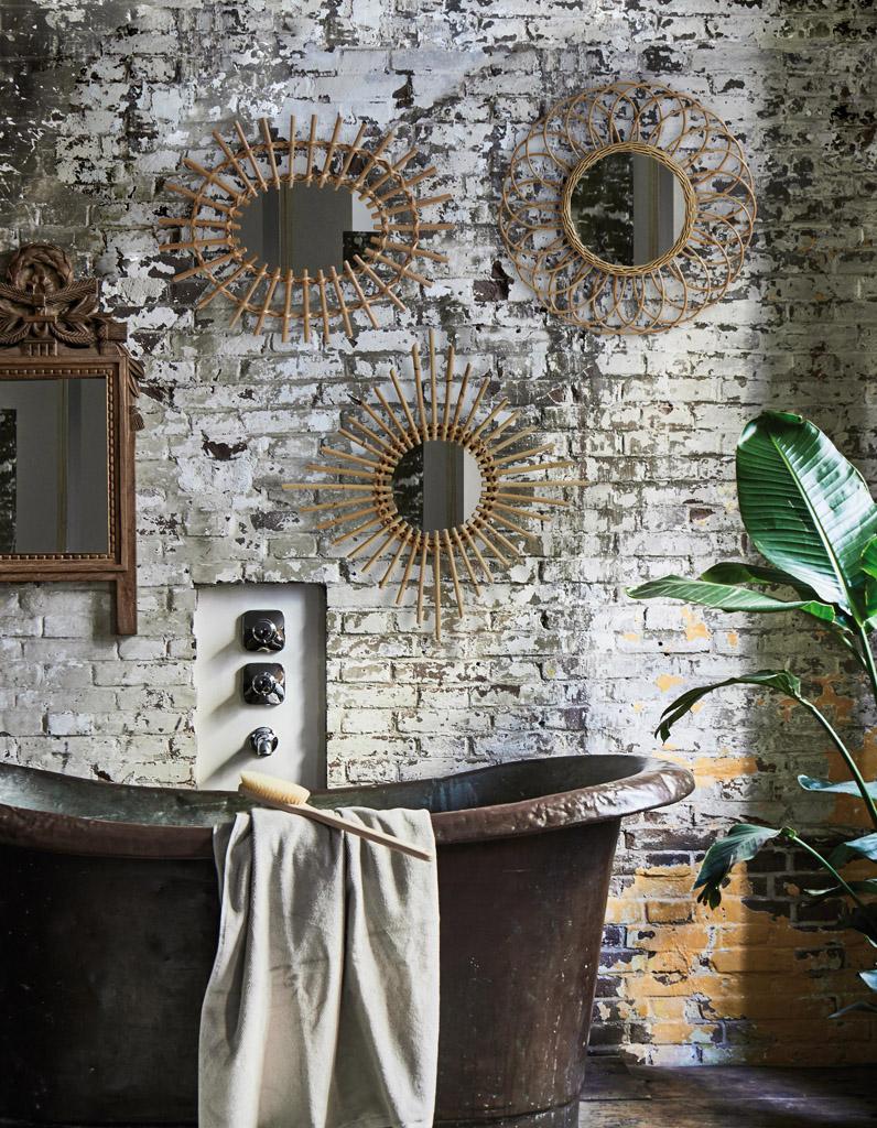 Miroir Maison Du Monde Industriel voici les plus jolis miroirs de salle de bains - elle décoration