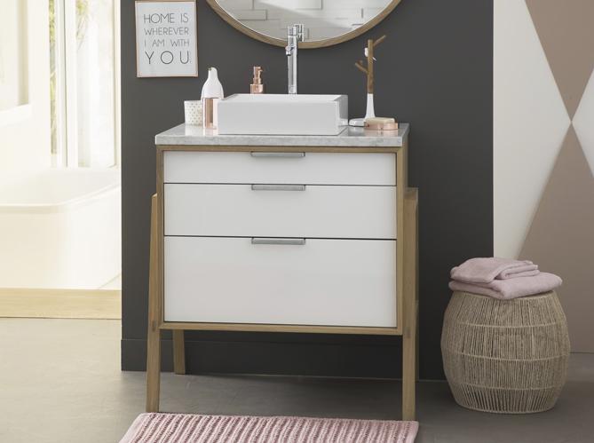 Tendance du jour : les meubles de salle de bains en bois ...