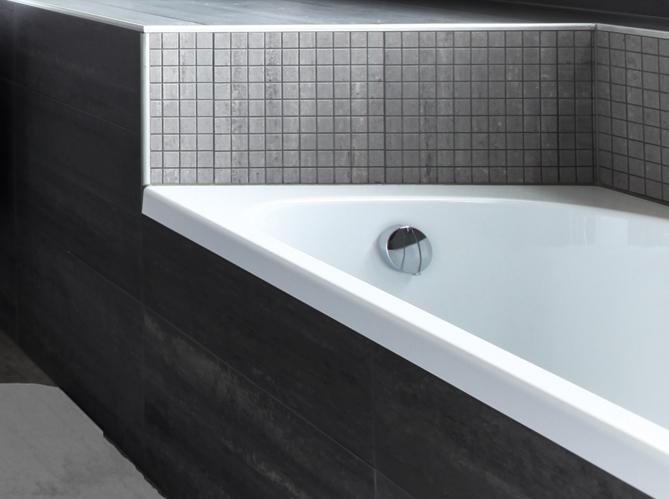 Peindre Son Carrelage De Salle De Bains En étapes Elle Décoration - Peindre le carrelage d une salle de bain