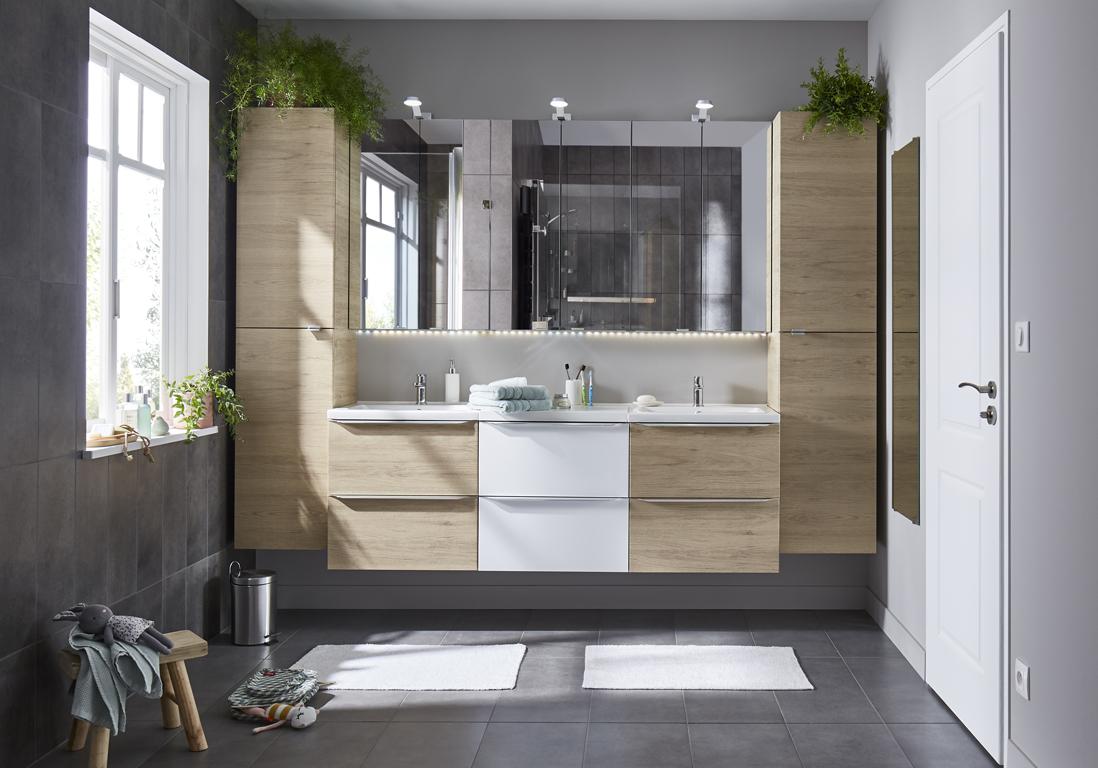Ces salles de bains Castorama ont tout pour plaire - Elle Décoration