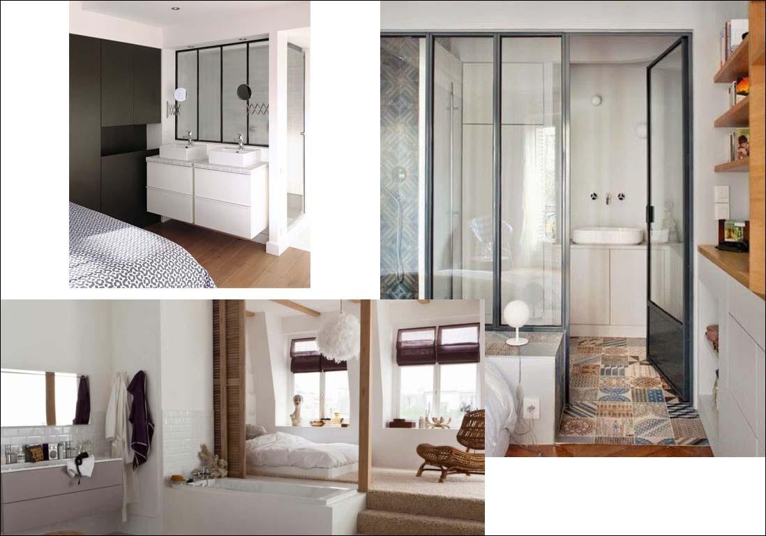 Salle De Bain Dans Une Chambre ~ beautiful salle de bain dans chambre galerie photos et id es