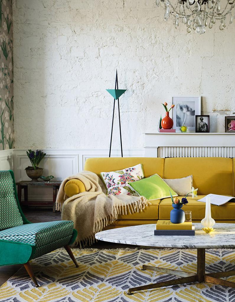 18 idées déco pour le salon - Elle Décoration