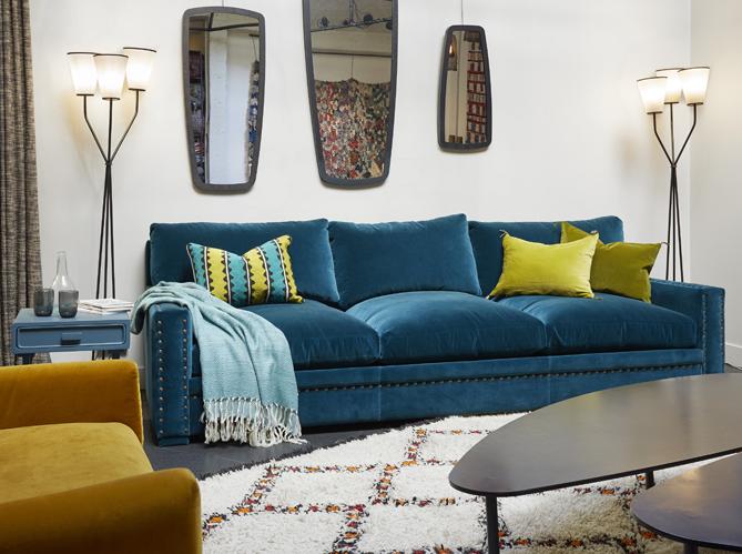 Tendance Qu On Aime Le Salon Boheme Elle Decoration