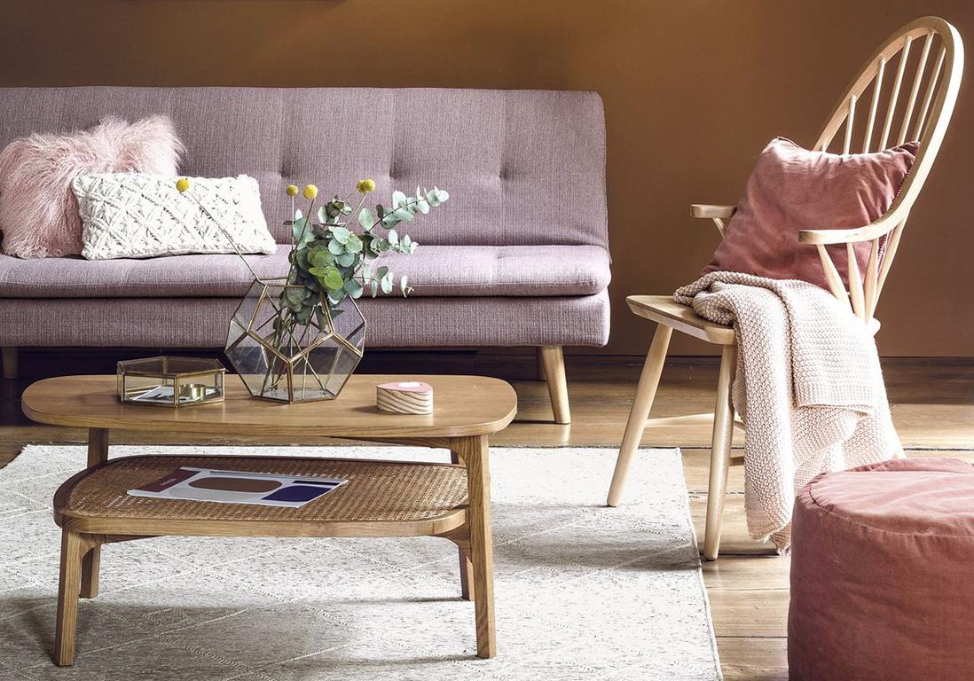 30 tables basses pour tous les styles elle d coration. Black Bedroom Furniture Sets. Home Design Ideas