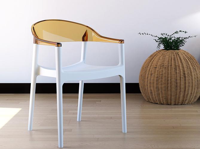 On craque pour les chaises transparentes ! Elle Décoration