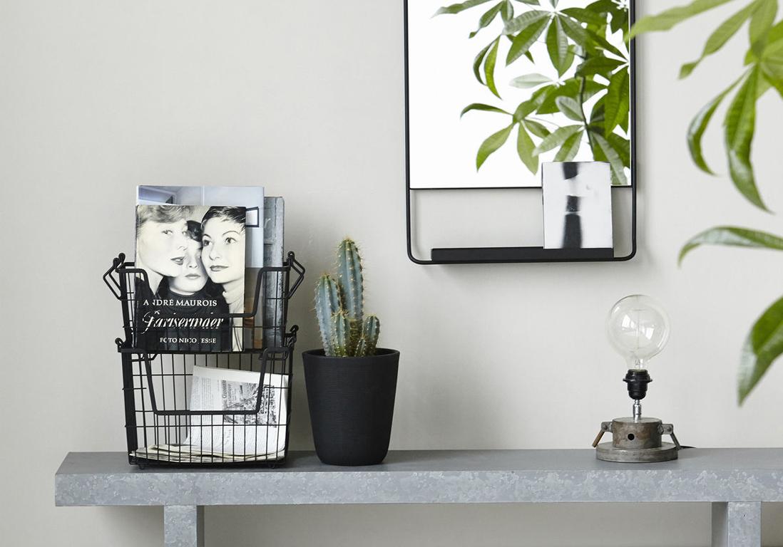 Deco Salon Gris Rose porte-revues : découvrez nos sélection design ! - elle