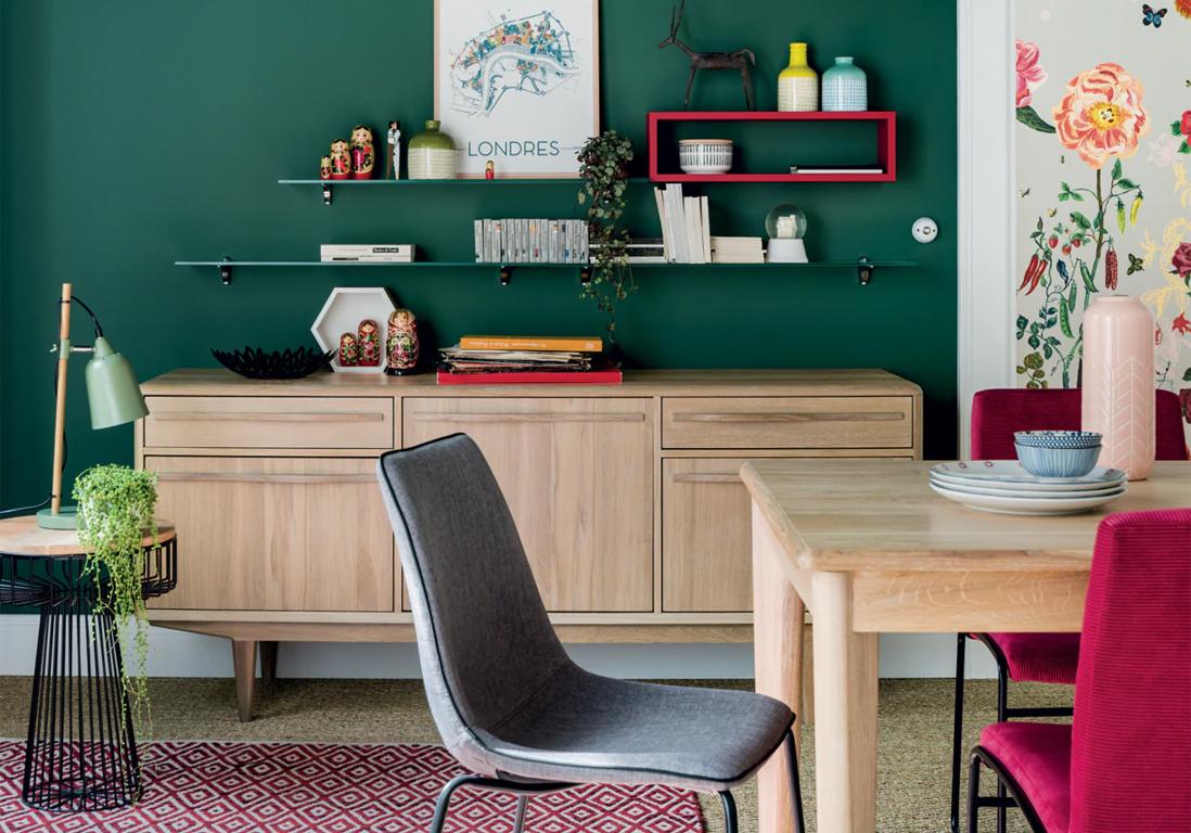 Enfilade Scandinave Le Meuble Ideal Au Salon Elle Decoration