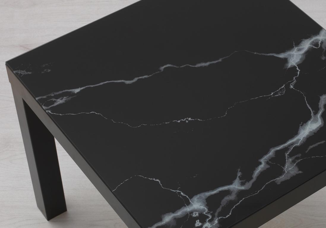 Ikea La Table Basse La Plus Celebre Et La Moins Chere Du Monde Passe En Mode Marbre Elle Decoration