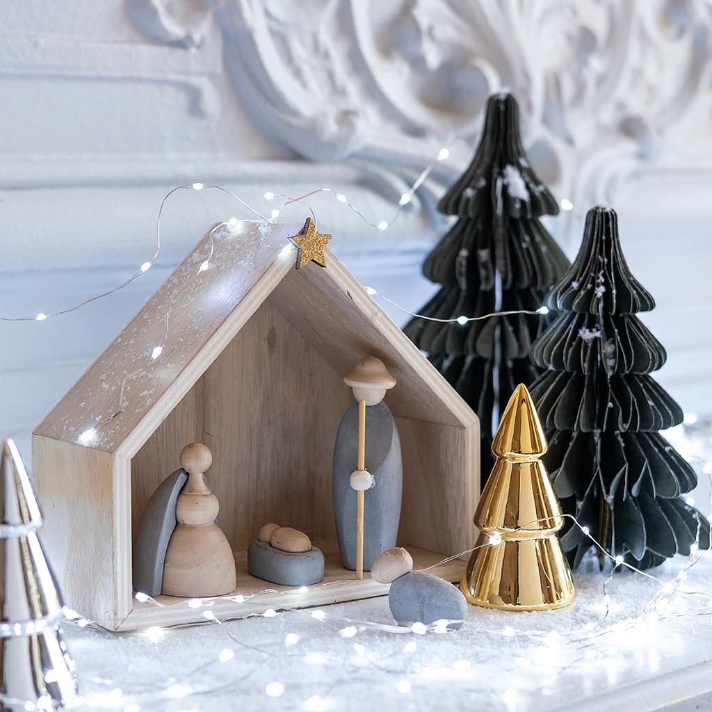 12 Creches De Noel Pour Les Petits Et Les Grands Elle Decoration