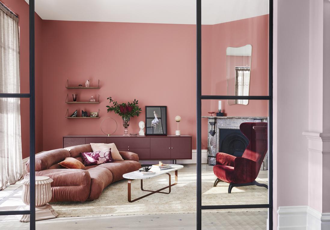 Faire Un Mur De Photos Décoration les plus beaux salons colorés sont ici - elle décoration
