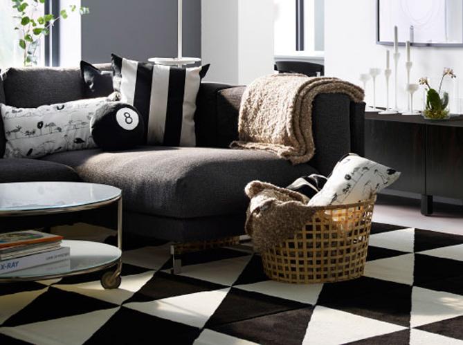 mon salon passe en mode cocooning pour l 39 hiver elle d coration. Black Bedroom Furniture Sets. Home Design Ideas