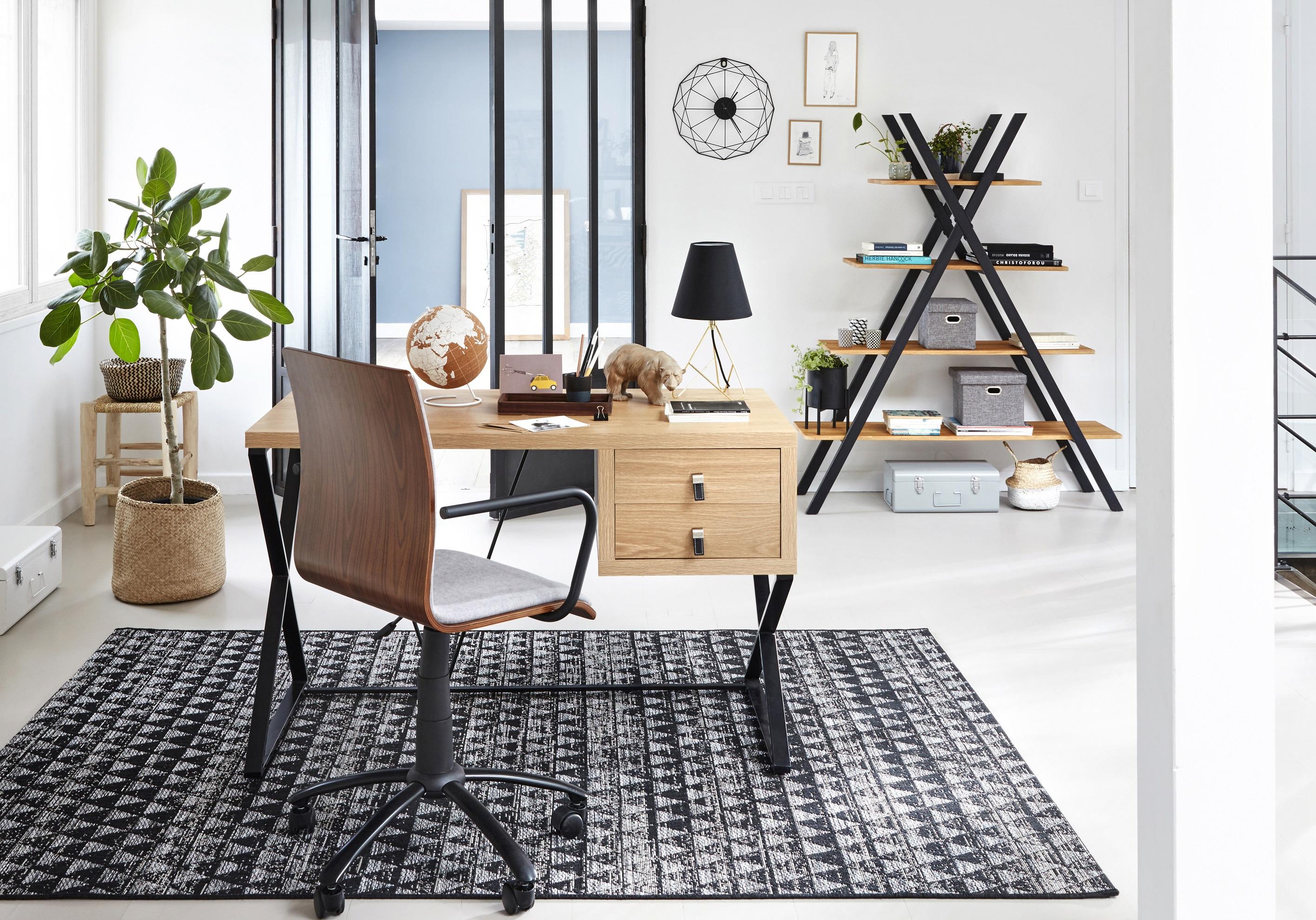 Coin bureau : nos idées pour aménager un petit bureau à la maison