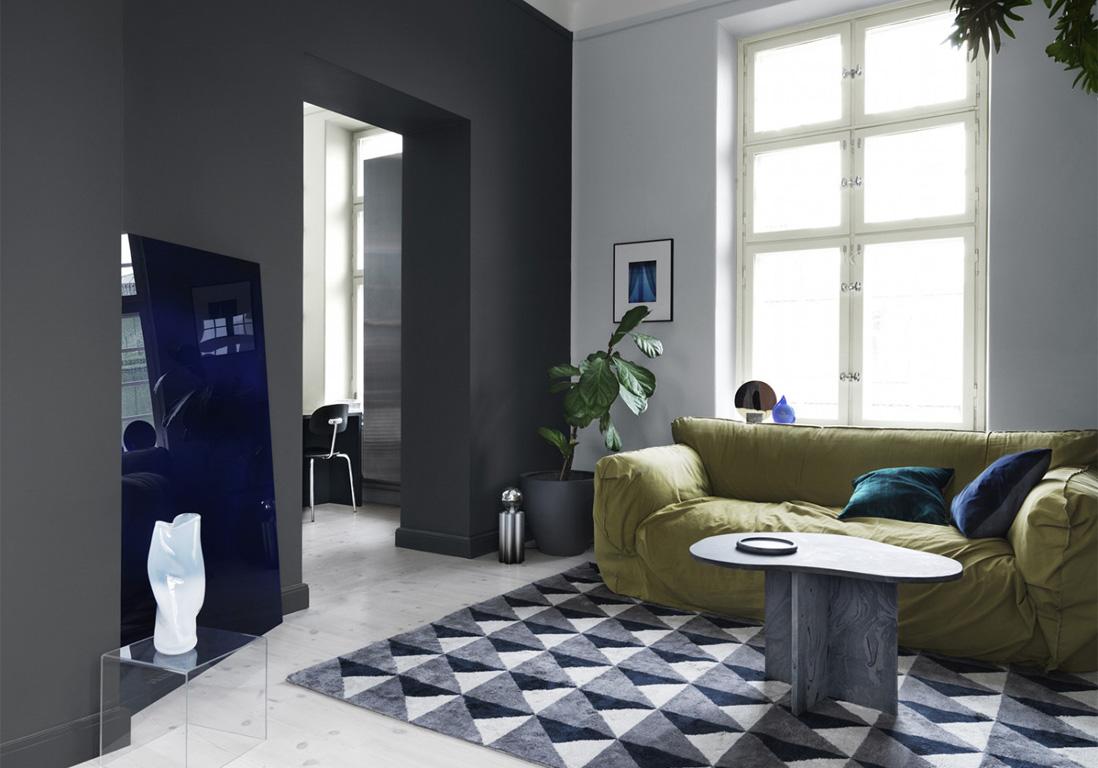 Salon Noir Blanc Jaune les règles d'or d'une décoration noire réussie - elle décoration