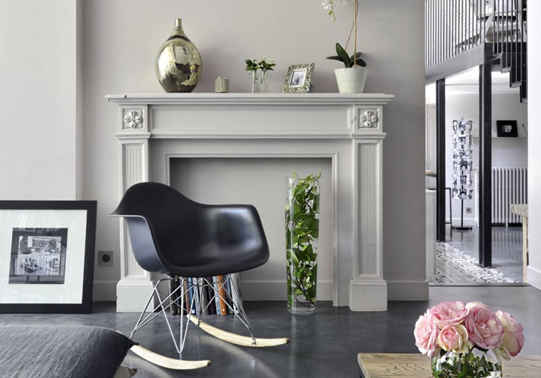 comment d corer une fausse chemin e elle d coration. Black Bedroom Furniture Sets. Home Design Ideas