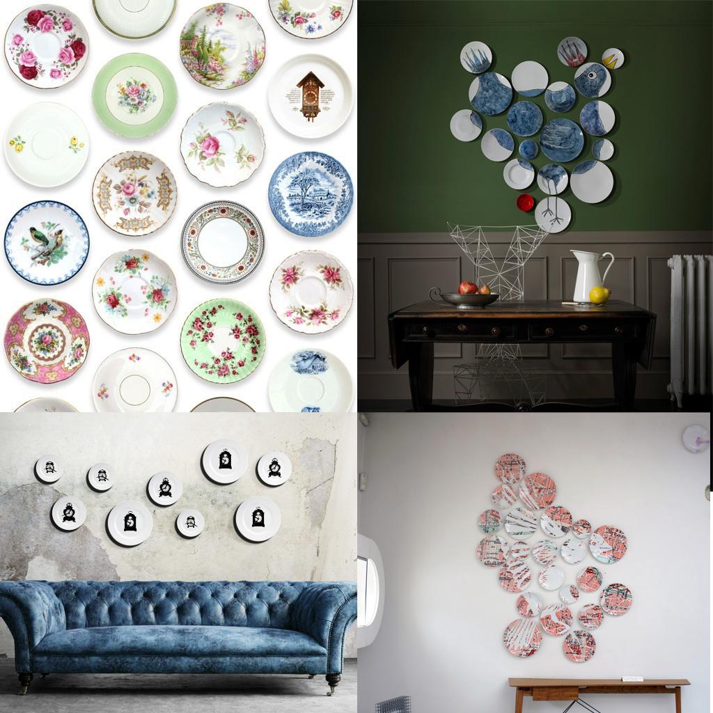 doit on vraiment succomber aux assiettes au mur elle d coration. Black Bedroom Furniture Sets. Home Design Ideas