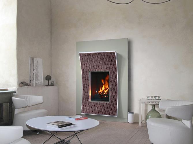 Osez La Cheminee Design Elle Decoration